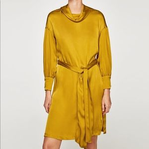 NWT Zara satin dress